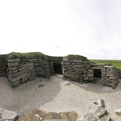 Panorama Movie of House 8, Skara Brae