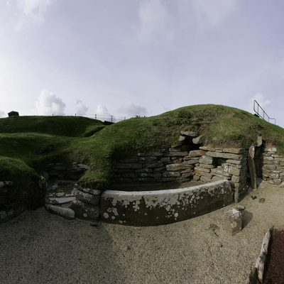 Panorama Movie of House 9, Skara Brae