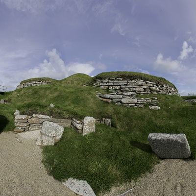 Panorama Movie of House 10, Skara Brae