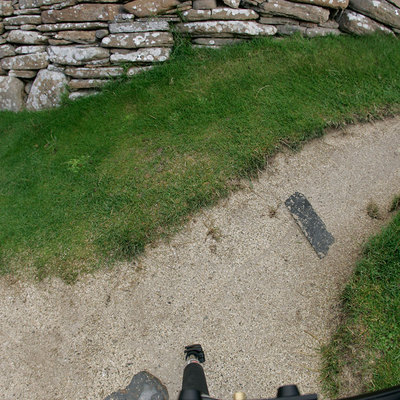 Panoramic Photography of the Marketplace, Skara Brae