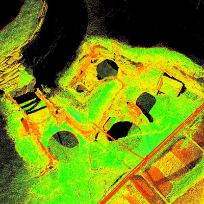 LiDAR Scan of House 3, Skara Brae