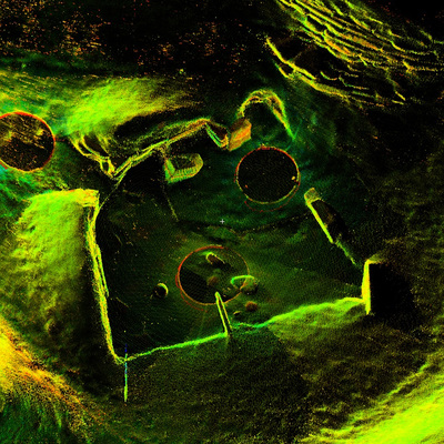 LiDAR Scan of House 10, Skara Brae
