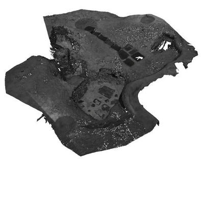3D mesh model of House 6, Skara Brae