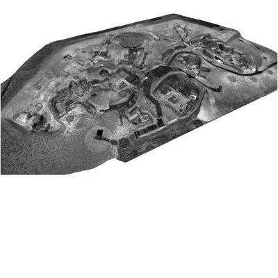 3D mesh model of Skara Brae