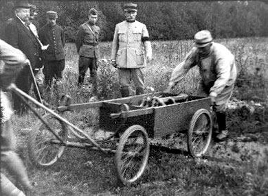 Montgeron, transport de munitions