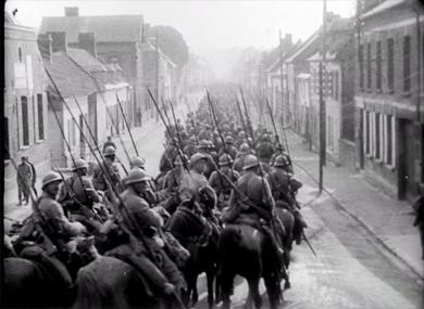 Sur le front de la Somme