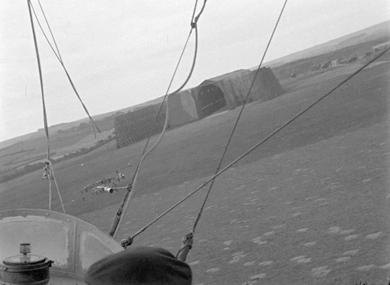 Dirigeable, hangar et atterrissage