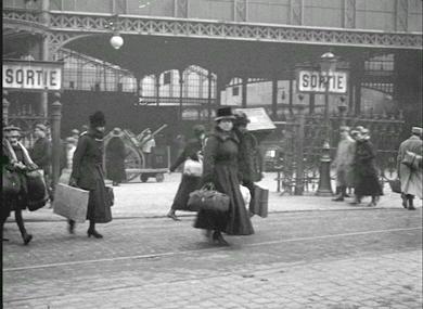 Gare du Nord, arrivée des réfugiés de la Somme