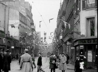 Scènes diverses pendant la guerre (Metz libérée)