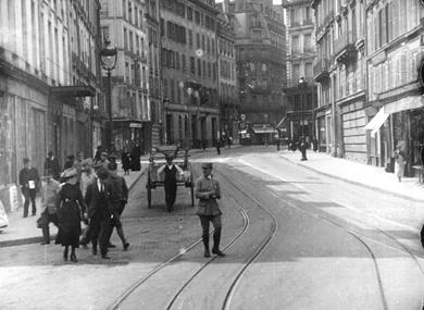 La ville pendant les bombardements