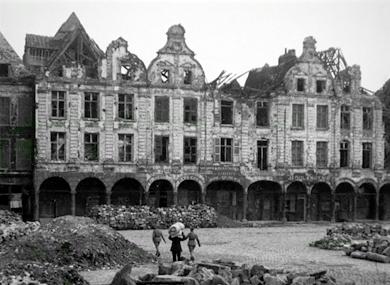 Régions dévastées, Arras
