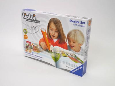 Tiptoi, brengt leren tot leven. Speelgoed van het jaar 2012 voor kinderen van 4 - 7 jaar