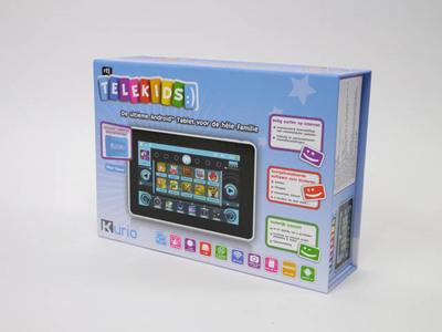 Telekids, Kurio, Tablet voor de hele familie. Speelgoed van het jaar 2012