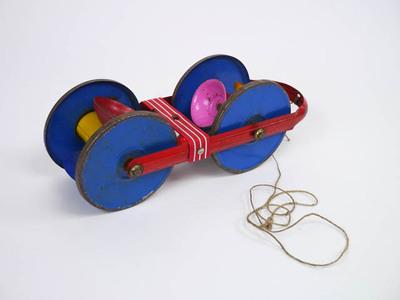 Trekspeelgoed met wielen en bellen