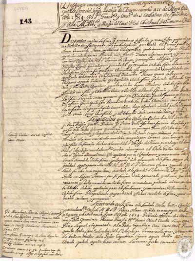 Defensorio con derecho canonico ... que la corte del Señor Justicia de Aragon concedio a 11 de Mayo del año 1654 al ... convto. de S. Cathalina de Cariñena ... y monjas del convto. de S. Christoval de la misma Villa [Manuscrito]