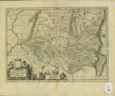 Episcopatus Balbastrensis, Ribagorça Comit. et Sobrarbe, cum adjacentibus [Material cartográfico]