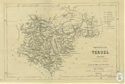Provincia de Teruel [Material cartográfico]: Aragón