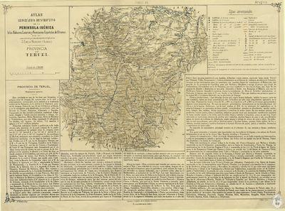 Provincia de Teruel [Material cartográfico]