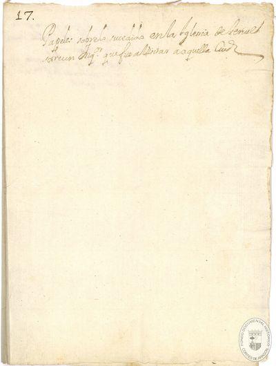 [Copia de la orden de Felipe IV, dada en Teruel, para que no se salude ni se tenga que pedir la venia a los inquisidores para el inicio del sermón en la Catedral de Teruel, si concurre el cabildo de dicha ciudad] [Manuscrito]