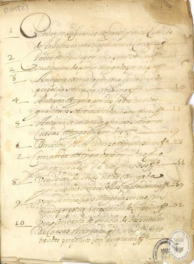 Varias escrituras [Manuscrito] : [Documentación relativa a Zaragoza del S. XVII de varios notarios]
