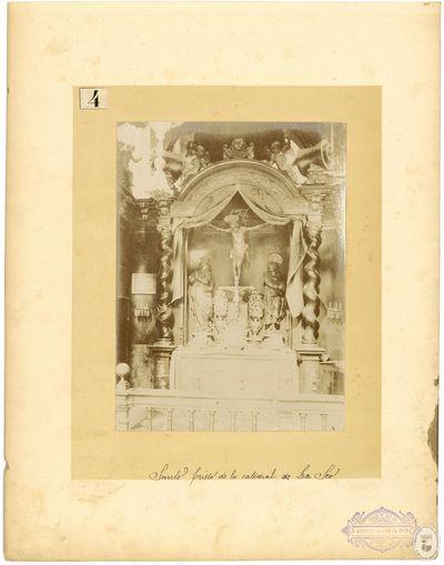 Santo Cristo de la Catedral de La Seo [Material gráfico]