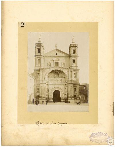 Iglesia de Santa Engracia [Material gráfico]