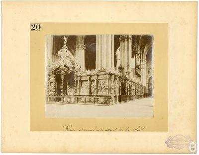 Derecha del trascoro de la Catedral de La Seo [Material gráfico]