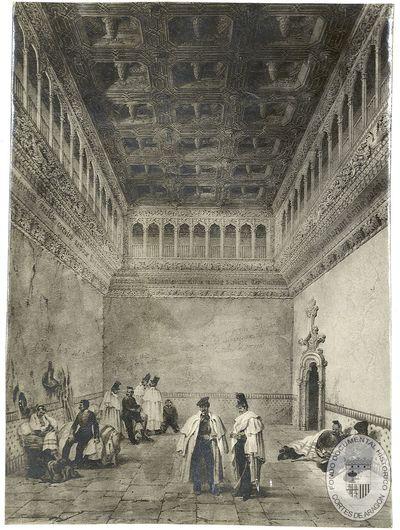 [Salón de Santa Isabel de la Aljafería] [Material gráfico]