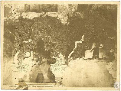 ZARAGOZA [Material gráfico] : 1746 : Aljafería : Vista interior de la mezquita