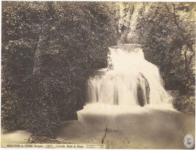 Monasterio de Piedra (Aragón) [Material gráfico] : 1636 : Cascada baño de Diana