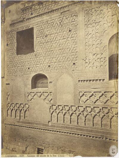 Zaragoza [Material gráfico] : 1691 : Azulejos del ábside de la Seo