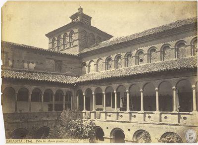 Zaragoza [Material gráfico] : 1742 : Patio del Museo provincial