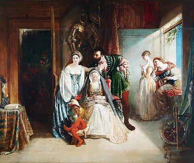 Francois I and Diane de Poitiers
