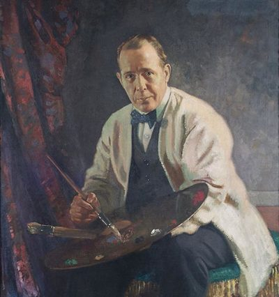 Portrait of Sir William Orpen RA RHA (1878-1931)
