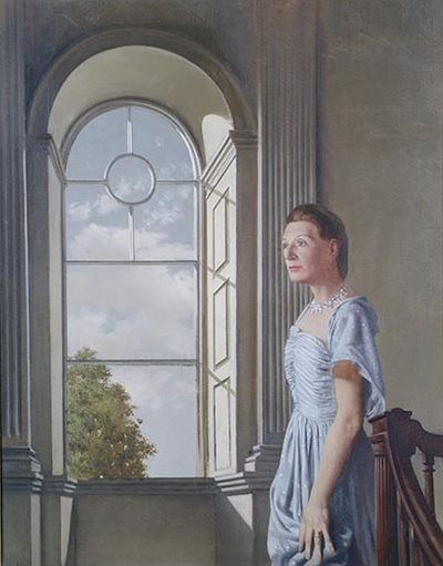 Portrait of Elizabeth Bowen at Bowenscourt
