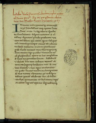 Roma, Biblioteca Universitaria Alessandrina, Manoscritti, ms.239