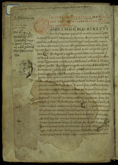 Roma, Biblioteca Universitaria Alessandrina, Manoscritti, ms.236