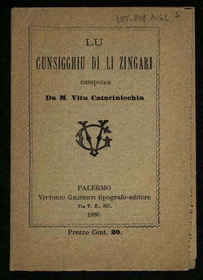 Icunsigghiu di li zingari cumpotsu da M. Vitu Catarinicchia