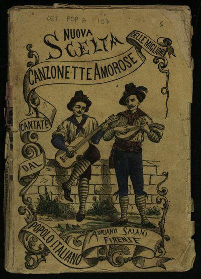Nuova scelta delle migliori canzonette cantate dal popolo, aggiuntovi La mandolinata