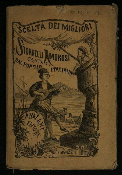 Raccolta di stornelli amorosi cantati dal popolo italiano