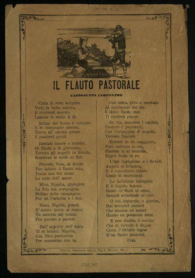 Il flauto pastorale : canzonetta campestre