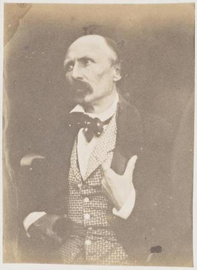 tirage photographique ; Le général Le Flô en buste, profil gauche