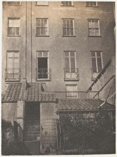 tirage photographique ; Guernesey, 20 Hauteville