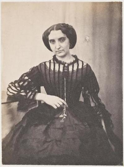 tirage photographique ; Mademoiselle Edwige ; Mme Lecras, soeur de Miss Jos