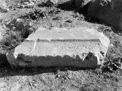 Vue rapprochée d'un bloc de grand appareil (Amphithéâtre, Fréjus, Var).
