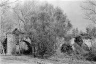 Vue générale des cinq arches (L'Esquine, Fréjus, Var).