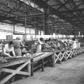 Qualcast lawn mower works, Victory Road - Lawn mower assembly line