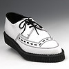 Men's white crepe soled shoe