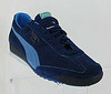Puma Jeans blue two tone trainer
