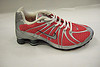 Nike Shox - Nike pink cushioned trainer with silver stripes trainer